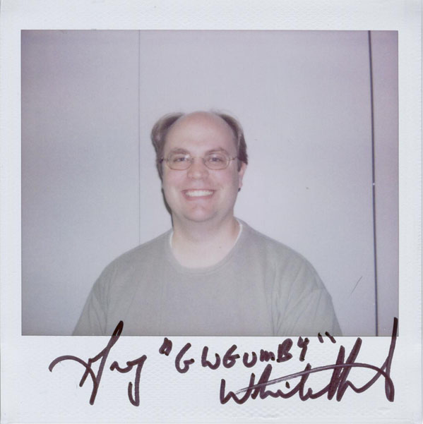 Portroids: Portroid of Greg Whitehead