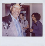 Portroids: Steve Bannos Collection - Morgan Freeman Polaroid