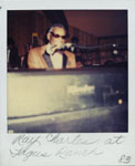 Portroids: Steve Bannos Collection Polaroid of Ray Charles