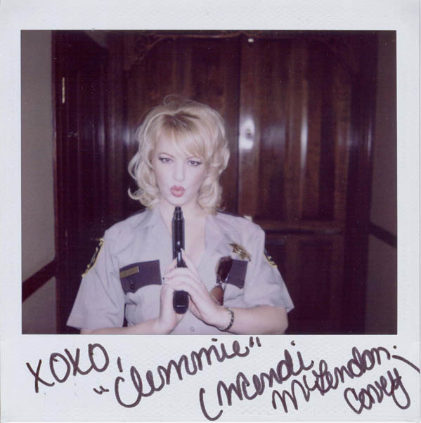 Portroids: Portroid of Wendi McLendon-Covey as Reno 911's Clementine Johnson