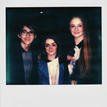Portroids: Portroid of Isaac Hempstead Wright Maisie Williams and Sophie Turner