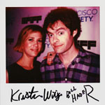 Portroids: Portroid of Kristen Wiig and Bill Hader