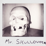 Portroids: Portroid of Mr Skulloween