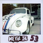Portroids: Portroid of Herbie the Love Bug