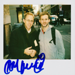 Portroids: Polaroid of me and Dominic Monaghan
